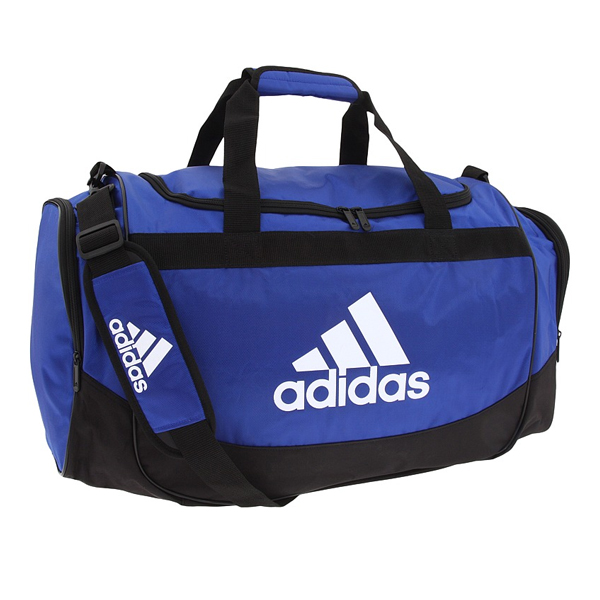 Details about Adidas Defender Medium Duffel Bag Royal Blue 5122644