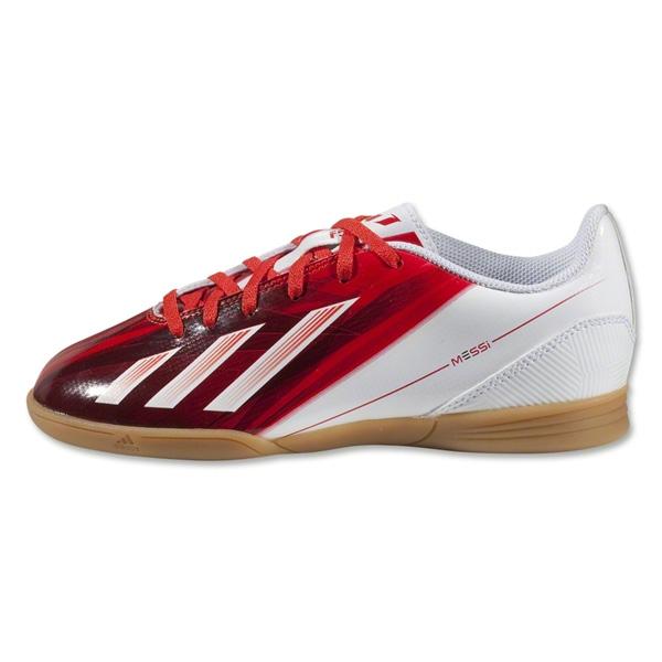 Adidas Messi Jr F5 Indoor Soccer Shoes Running White/Black/Dark Orange G65418   EBay