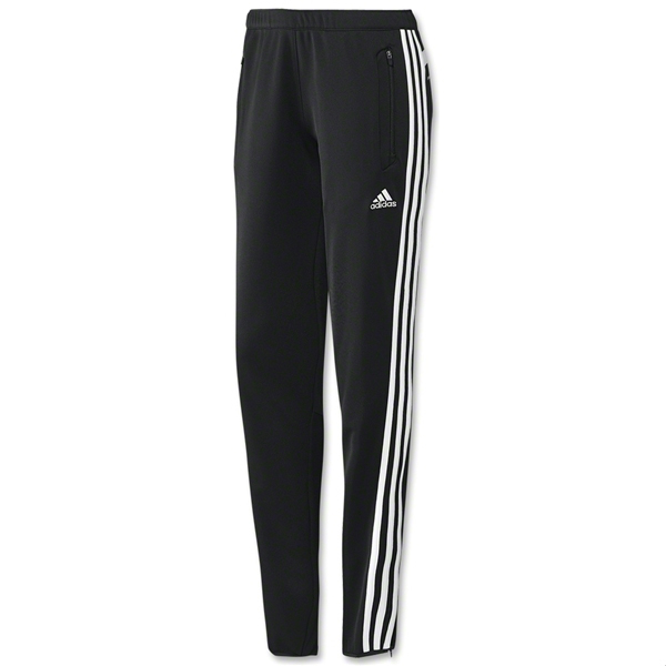 adidas Women's Tiro 13 Soccer Training Pant Black/White ...