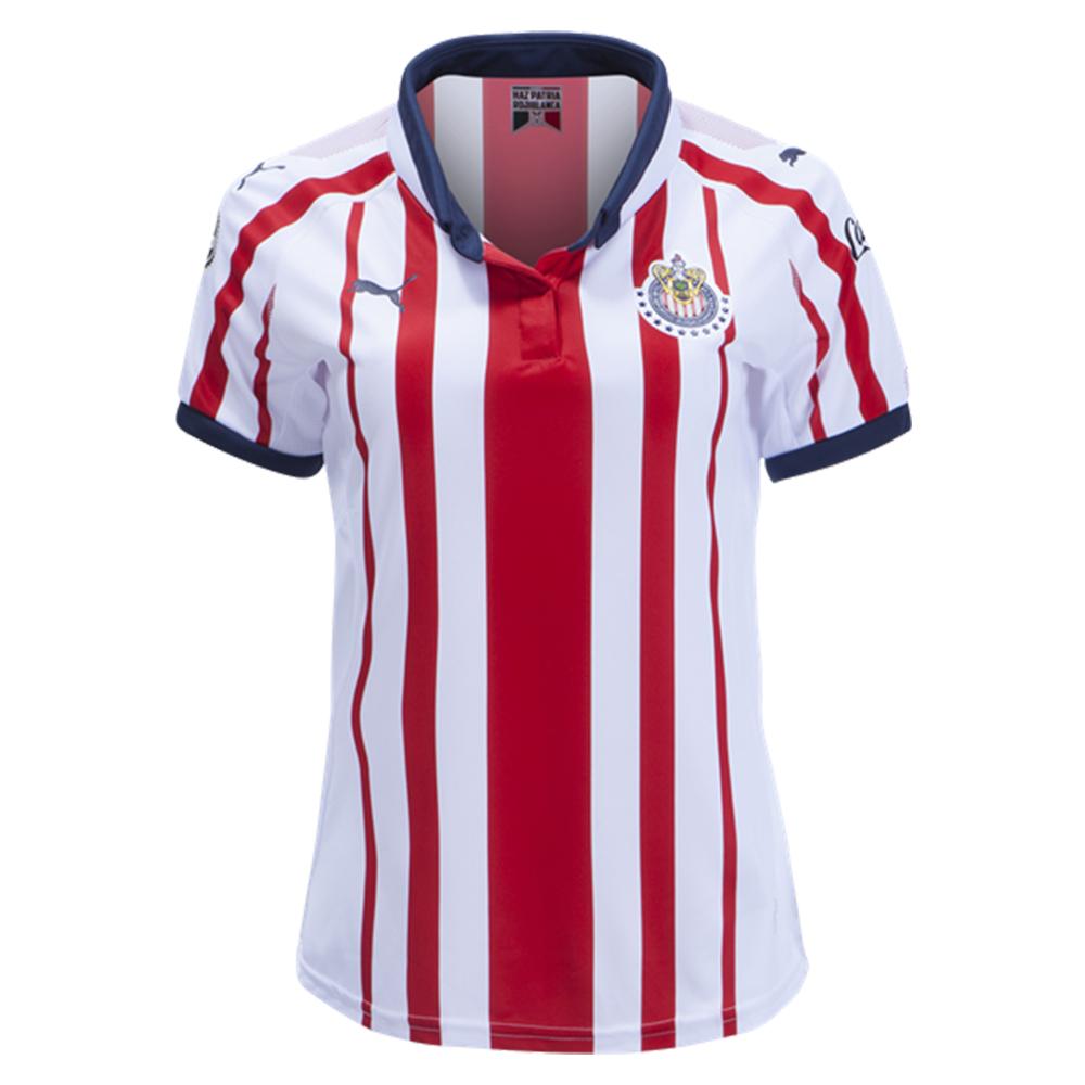 fe2fa4138 Puma Women s Chivas 18 19 Home Jersey Red White 762574 01