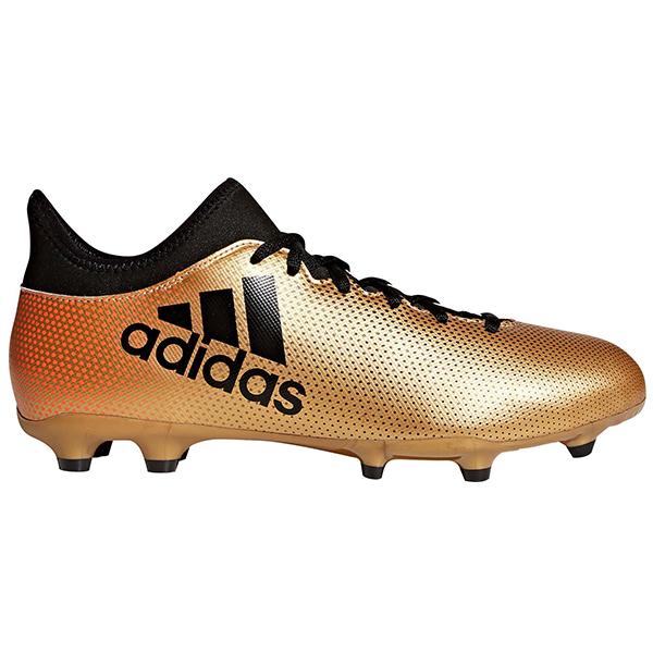 fb3db6d4ede3 Details about adidas Men's X 17.3 FG Tactile Gold Metallic/Core Black/Solar  Red CP9190