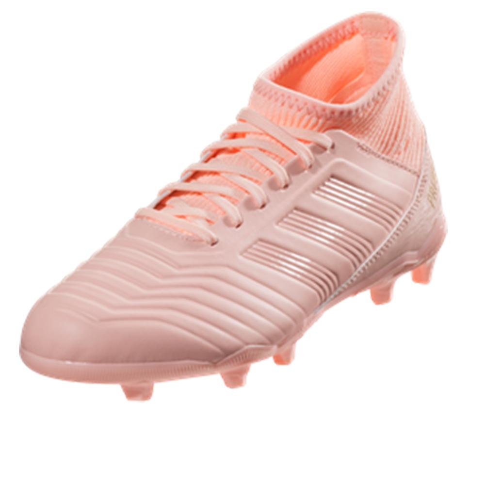 edb9a941f2c adidas Kids Predator 18.3 FG Clear Orange Trace Pink DB2317
