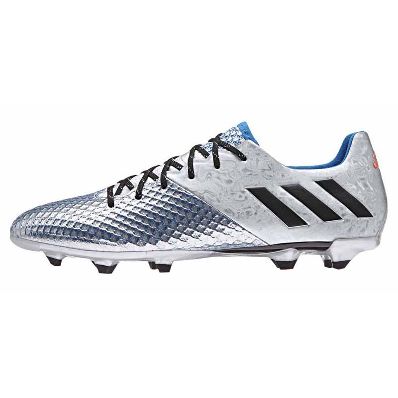 f84bba12d adidas Men s Messi 16.2 FG Silver Metalic Core Black Sho Blue S79629 ...